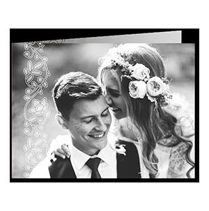 Remerciements mariage dentelle douceur